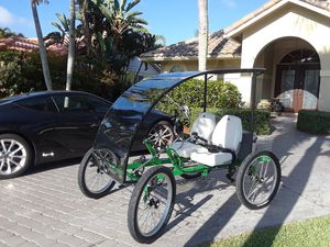 Rhoades Car 2 seater pedal or electric for Sale in FL, US
