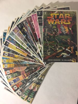 Classic Star Wars 1, 2, 3, 4, 5, 6, 7, 8, 9, 10, 11, 12, 13, 14, 15, 16, 17, 18, 19, 20 NM Avg RUN LOT SET Dark Horse for Sale in Chesapeake, VA