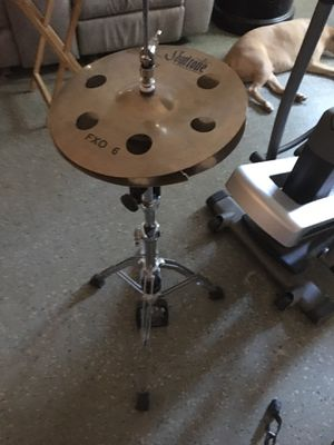 Soultone cymbals with stand for Sale in Fresno, CA
