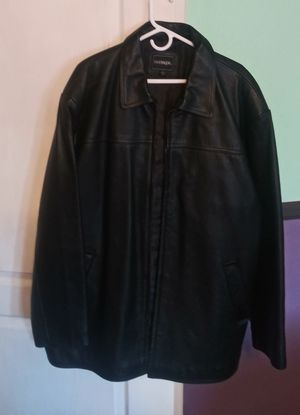 LEATHER JACKET 2X NEW for Sale in Sun City, AZ
