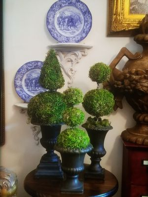 Handcrafted Topiary set for Sale in Orlando, FL