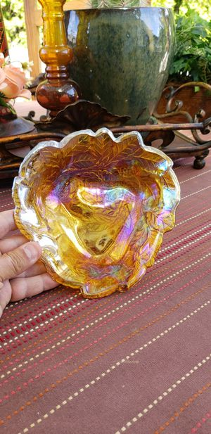 """Indiana Glass Company Carnival Glass Candy Dish. 7"""" for Sale in Kent, WA"""