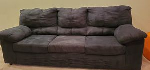 Couch- black for Sale in Columbus, OH