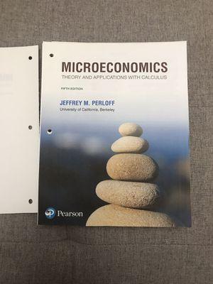 Microeconomics Perloff 5th Edition Loose Leaf for Sale in Berkeley, CA