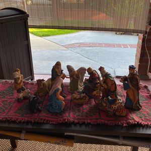 Christmas Nativity Set for Sale in City of Industry, CA
