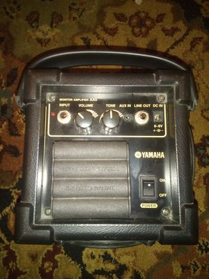 Like new vintage yamaha model AA5 monitor amplifier for Sale in Wakeman, OH