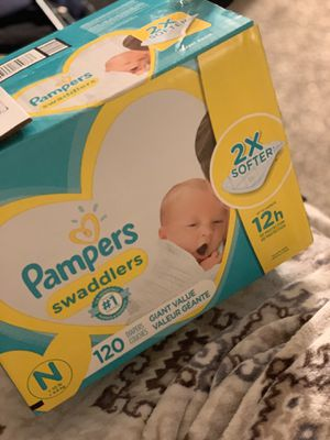 Newborn pampers for Sale in Carrollton, TX