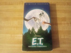$5 limited edition E.T VHS for Sale in San Angelo, TX