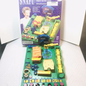 Vintage 1991 Tomy SNAFU Maze Game for Sale in Pawtucket, RI