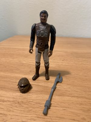 Star Wars Vintage Kenner Lando Calrissean Skiff Guard for Sale in Poway, CA