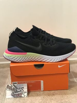 New Nike Epic React Flyknit 2 Running Shoes for Sale in Buffalo, NY