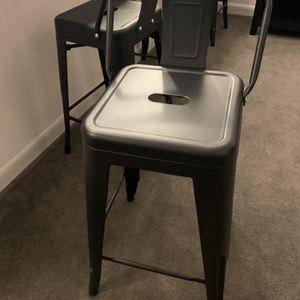 4 bar stools for Sale in Arlington, VA