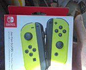 Nintendo switch neon yellow joycons unopened brand new for Sale in Atlanta, GA