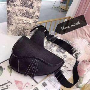 Dior black saddle bag for Sale in Falls Church, VA