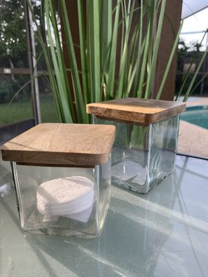 Beautiful Set of Glass Storage Containers! for Sale in Maitland, FL