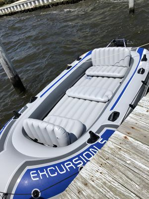 Inflatable Boat AND MOTOR for Sale in Lavallette, NJ