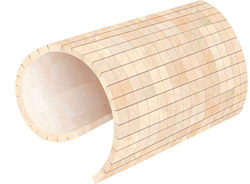 Flexible balsa panels