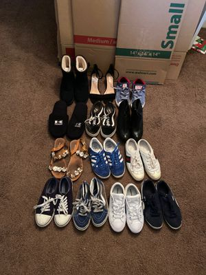 Woman's shoes size 6. All in different condition for Sale in Chula Vista, CA