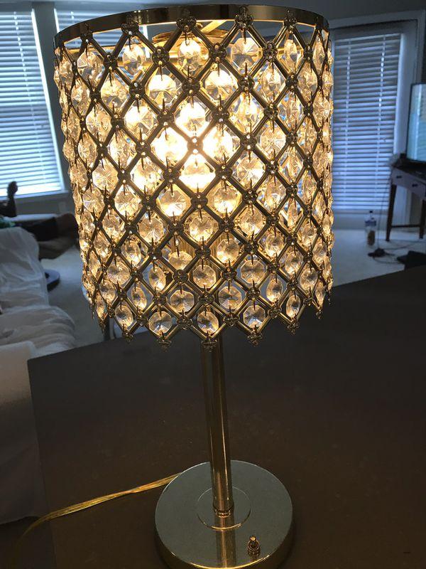 Beautiful gold glamour lamp