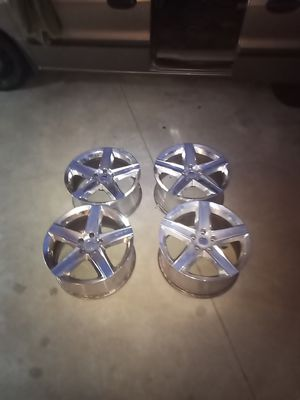 Jeep SRT8 wheels staggered 20x9 20x10 5x127 5x5 for Sale in Claremont, CA