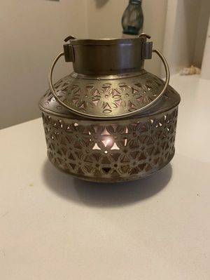 Antique metal lantern for Sale in Chicago, IL