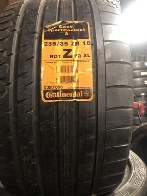 285/35zr18 for Sale in Harvey, IL