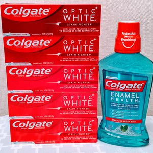 Colgate Optic White Toothpastes & Colgate Enamel Health for Sale in Sammamish, WA