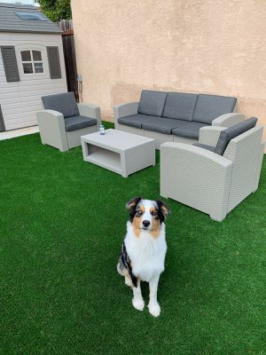 Brand new 100% PVC outdoor wicker look patio furniture lounge set for Sale in San Diego, CA