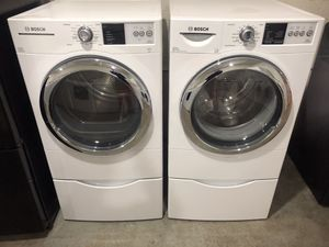 Bosch FrontLoad Washer Dryer Set for Sale in Lexington, NC