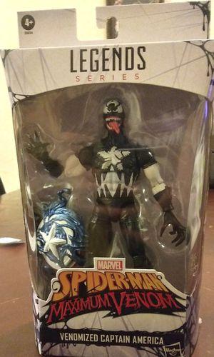 Marvel Legends Venomized Captain America for Sale in Apache Junction, AZ