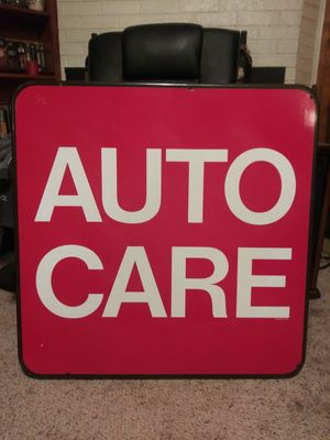 "Auto Care Sign 30"" x 30"" Plastic Nice for Sale in Pulaski, TN"