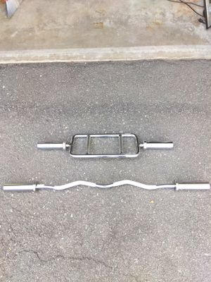 Olympic curl-tricep bars for Sale in Arcadia, CA