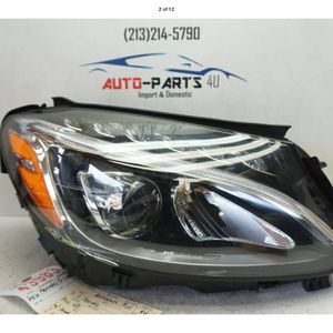 2015 2018 MERCEDES C CLASS RIGHT PASSENGER FULL LED HEADLIGHT OEM 2016 UC43983 for Sale in Compton, CA