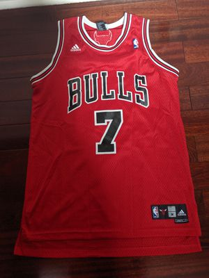 Authentic Adidas Chicago Bulls Ben Gordon 7 (adidas) Red Jersey #7 for Sale in MONTGMRY, IL
