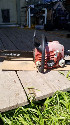 Vintage Homelite Chainsaw 3816c for Sale in Austin, TX