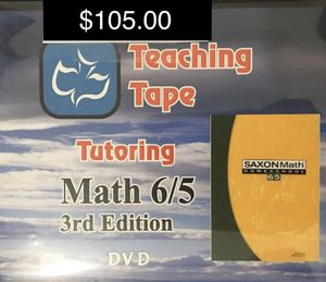 Saxon 6/5 Teaching Tape DVDs for Sale in Winter Haven, FL
