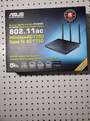Asus AC1750 ROUTER PLUS LINKSYS AC1850 RANGER EXTENDER for Sale in Waltham, MA