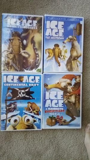 4 new movies DVDs. Ice Age for Sale in Lucas, TX