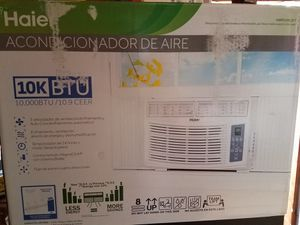 Brand New Haier 10,000 BTU Window Air Conditioner - AC Unit Model HWR10XCR-T with Remote - Brand New! for Sale in Nashville, TN