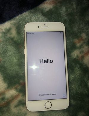 iPhone 6s Unlocked Carrier 32gb for Sale in Santa Ana, CA