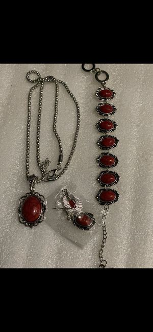 Beautiful red necklace for Sale in Irving, TX