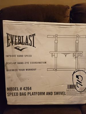 New Everlast wall mount speed bag. for Sale in St. Louis, MO