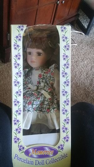 Memories Porcelain Doll Collectible for Sale in Palos Hills, IL