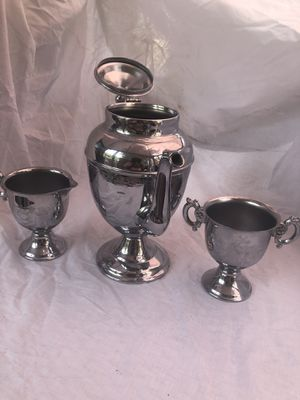 Vintage stainless Tea or Coffee Set set for Sale in South Bend, IN
