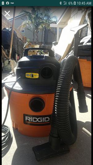 Ridgid Wet/Dry Vac 16 gallon for Sale in Alta Loma, CA