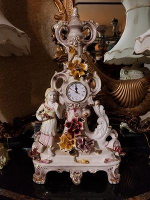 Capodimonte porcelain clock for Sale in Miami, FL