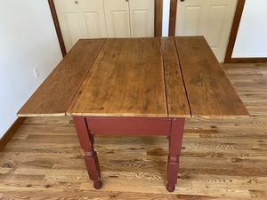 Antique farmhouse table and 4 chairs for Sale in Bend, OR