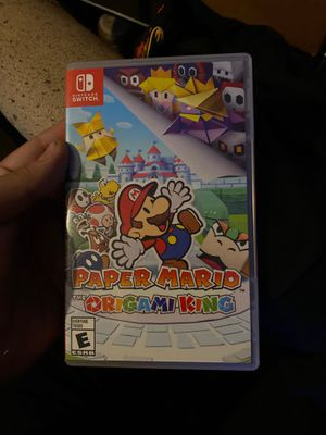 Paper Mario origami king for Sale in Buena Park, CA