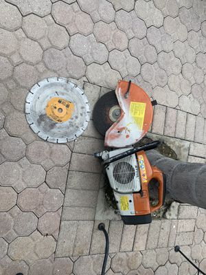 "STIHL TS400 14"" CONCRETE CUT OFF SAW BLADE & WATER KIT for Sale in Pembroke Pines, FL"
