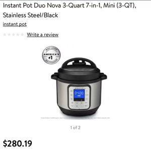 Instant Pot Duo mini for Sale in Maitland, FL